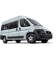european minibus vector image vector image