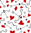 love concept pattern vector image