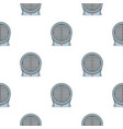 portable electric heater pattern seamless vector image vector image
