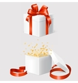 Set of two gift boxes vector image