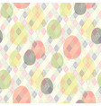 easter tribal pattern vector image vector image