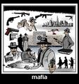 mafia vector image