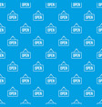 sign open pattern seamless blue vector image vector image