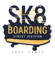skateboard 011 vector image vector image