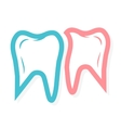 Tooth logo for dental clinic vector image vector image