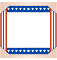 american abstract flag patriotic border background