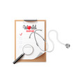 banner template for medical world health day vector image vector image