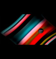 blur color wave lines abstract background vector image vector image