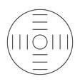 cosmos esoteric icon vector image