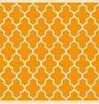 figured window grating with arabian ornament vector image vector image