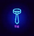 hat neon label vector image