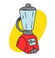 kitchen blender vector image