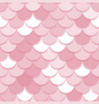 paper scales seamless squama pink stickers vector image