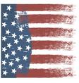usa stripe flag design vector image vector image