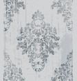 vintage baroque pattern imperial beautiful vector image vector image
