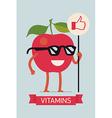 Bright Vitamins Banner vector image vector image