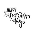 happy valentines day hand drawn creative vector image vector image