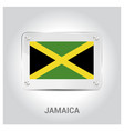 jamaica flag design vector image