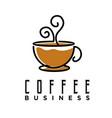 line art coffee cafe logo design inspiration