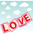 love stamps vector image vector image