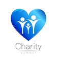 Symbol of CharitySign people vector image vector image