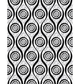 vintage style seamless wallpaper monochrome vector image vector image
