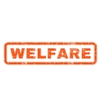 Welfare Rubber Stamp vector image vector image