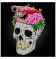 brain control vector image vector image