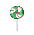 candy lollipop icon isolated on white background vector image