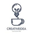 Creative Success Idea Logo vector image