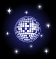 disco ball disco ball vector image