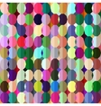 Geometrical sealess pattern in bright colors vector image vector image