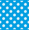 happy mother pattern seamless blue vector image vector image