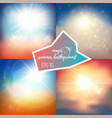 light summer backgrounds vector image