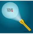 Lignt Torch Banner vector image vector image