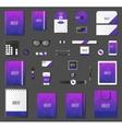 Mock up set vector image vector image