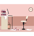 Office workplace vector image