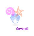 Summer holiday card vector image vector image