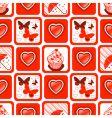 valentine wallpaper vector image vector image