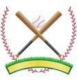 baseball 05 vector image vector image