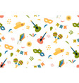cute festive seamless pattern background for vector image