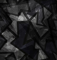 grunge black seamless texture vector image
