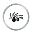 Italian olives from Italy icon in cartoon style vector image vector image