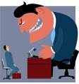 Job interview vector image vector image