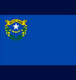 nevada state flag vector image vector image