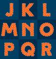 Polygonal font