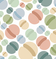 Sphere seamless pattern Abstract geometric vector image vector image