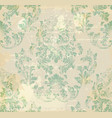 vintage baroque ornament royal victorian vector image