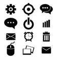 web design icon set vector image vector image