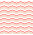 zig zag chevron pink and white tile pattern vector image vector image